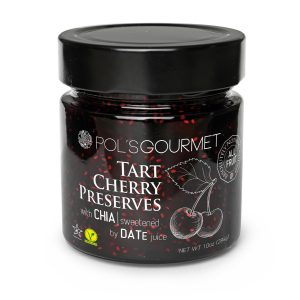 Pol's Gourmet Tart Cherry Preservers with Chia Seeds 284 gr.
